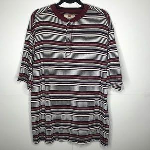 Levi's | Men's Striped Henley Sweater Tee (174)